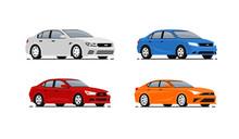 Cars Vector Illustrations Set....