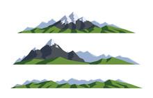 Mountain Landscape. Collection...