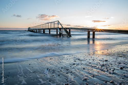 Fotografía  Sonnenuntergang am Meer