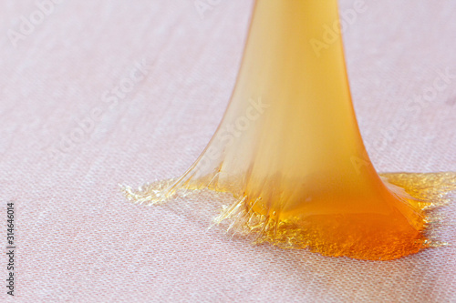 Obraz Closeup rubber adhesive that is used in general and in factories. - fototapety do salonu