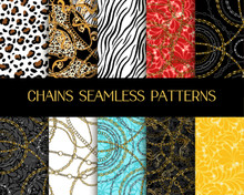 Chains Patterns Collection. Ve...