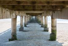 Under Pier Of Andernos Les Bai...