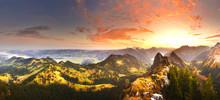 Autumn Mountains Before Sunris...