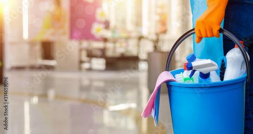 Fotografía Cleaning services concept .