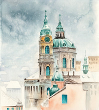 Watercolor Picture Depicting...
