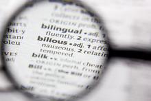 Word Or Phrase Bilious In A Di...