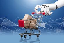 Robotic Hand Holding Shopping ...