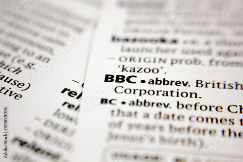 Платно Word or phrase BBC in a dictionary.
