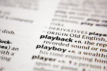 Word Or Phrase Playback In A D...