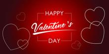 Valentine's Day Concept Frame....