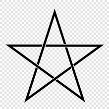 Illustration Of A Pentagram, A...