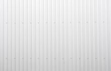 White Corrugated Metal Sheet T...