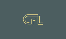 Alphabet Letter Monogram Icon Logos CFL