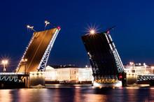 Drawbridge Saint-Petersburg