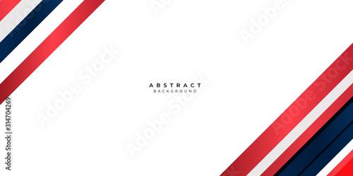 Fototapeta White Red Silver Gradient Blue Box Rectangle Abstract Background Vector Presentation Design obraz