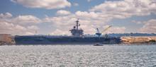 USS Roosevelt In San Diegoin S...