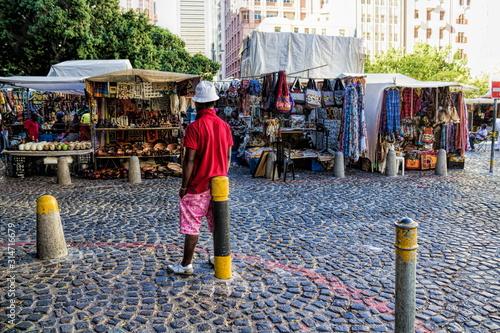 Valokuvatapetti Kapstadt, Greenmarket Square