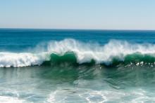 Ocean Wave On Beach
