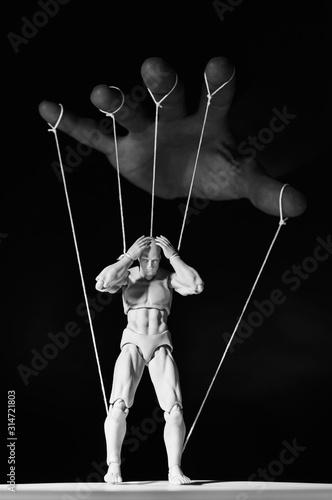 Fotografia Concept of control