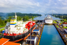 View Of Panama Canal From Crui...