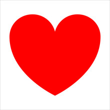 The Red Heart Is A Symbol Of L...