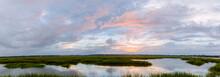 Panoramic Lowcountry Sunset