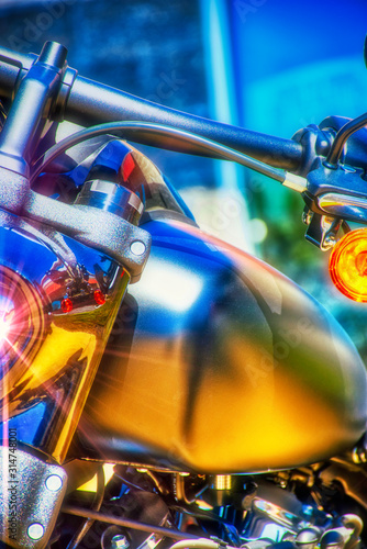 HDR Motorcycle.