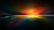 canvas print picture - Sunset Atmosphere