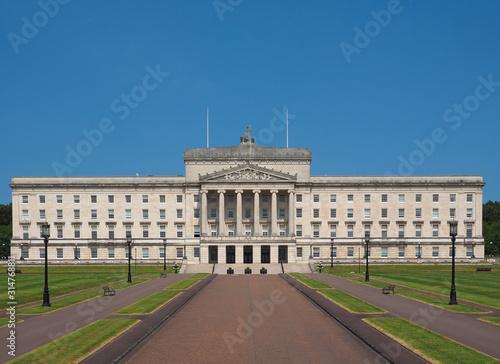 Stormont Parliament Buildings in Belfast Poster Mural XXL