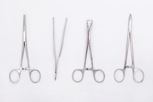 Metal Surgical Instruments On ...