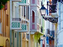 Bright Colorful Old San Juan S...