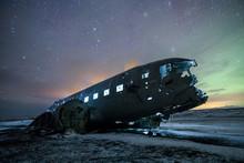Historic Plane Crash In Iceland