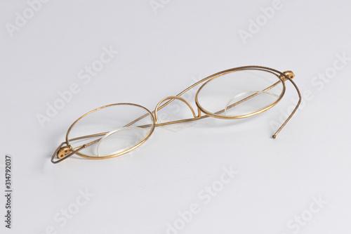 1700s Ben Franklin bifocals glod frame Wallpaper Mural