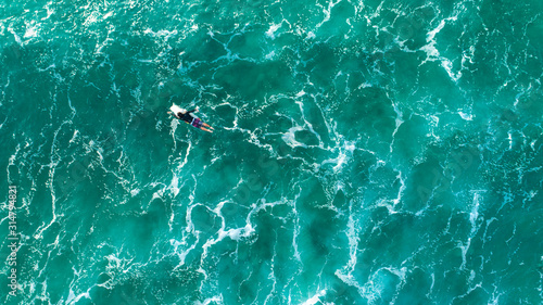 Aerial view of Sydneys Northern Beaches Wallpaper Mural