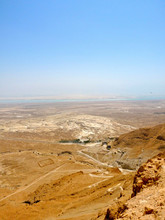 Desert Landscape Sky Mountain Nature Sand View In Israel - TLV