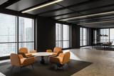 Fototapeta Kawa jest smaczna - Office waiting room and meeting room interior