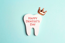 Happy Dentist's Day Concept Wi...