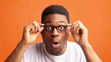 Surprised African American Guy...