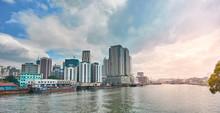 Skyline Of Manila Bay In Metro...