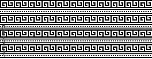 Photo Seamless pattern,  ancient ethnic pattern
