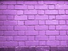 Purple Brick Wall Background