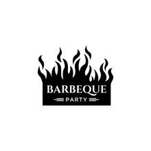 Barberque Logo Design Template...
