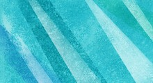 Abstract Blue And Green Stripe...