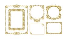 フレームセット_01 [ Set Of Decorative Frames 01]