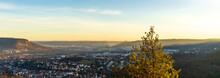 Panoramic View At Jena In Thur...