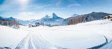 Winter Wonderland Scenery With...