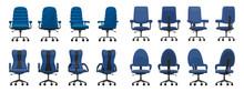 Office Chair Isolated Cartoon ...