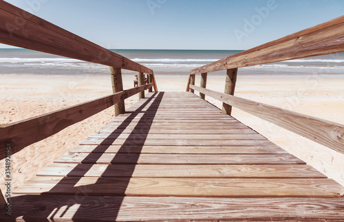 Photo Boardwalk on the beach