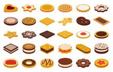 Cookie Of Food Cartoon Vector ...