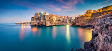 Panoramic Evening Cityscape Of...